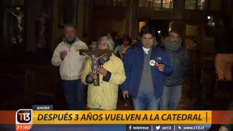 Después de tres años, fieles de Osorno vuelven a la catedral