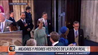 [VIDEO] Los mejor y peor vestidos de la boda real