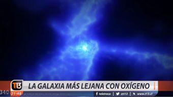 [VIDEO] La galaxia más lejana con oxígeno