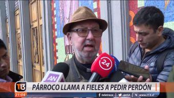 [VIDEO] Nueva polémica en iglesia de Osorno: Párroco llama a fieles a pedir perdón