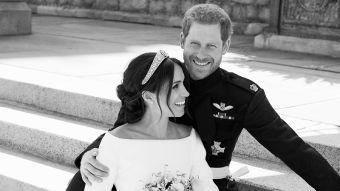 [FOTOS] Familia Real publica los retratos oficiales de la boda entre Harry y Meghan
