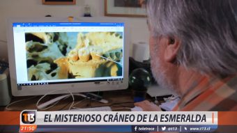[VIDEO] El misterioso cráneo encontrado en La Esmeralda