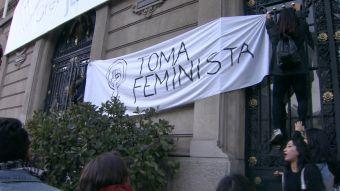 [VIDEO] Las demandas de la histórica toma feminista en la Casa Central de la UC