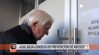 [VIDEO] Goic deja consejo de prevención de abusos