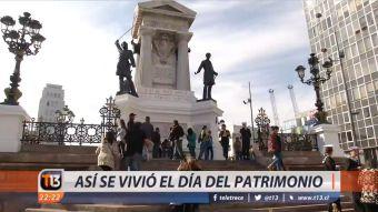 [VIDEO] Así se vivió el Día del Patrimonio en el país