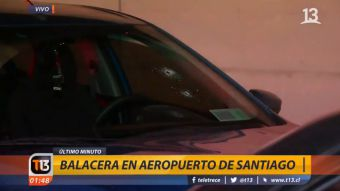 [VIDEO] Carabinero balea a conductor de Uber tras negarse a control policial