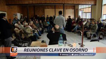 [VIDEO] Reuniones claves en Osorno