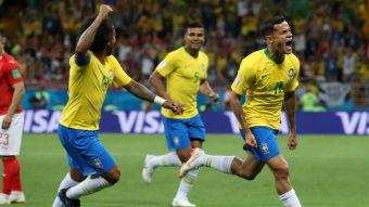 [VIDEO] El golazo de Coutinho con el que Brasil abrió la cuenta frente a Suiza