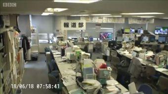 Japón: el momento en que un terremoto de 6,1 grados sacude Osaka y otras ciudades