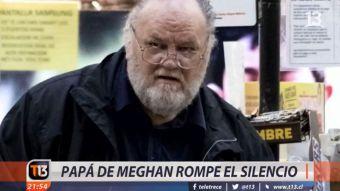 [VIDEO] Padre de Meghan Markle rompe el silencio
