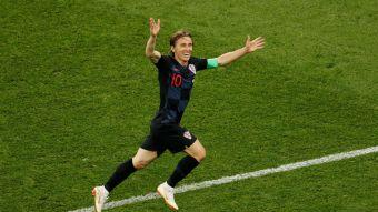[VIDEO] ¡Golazo! Luka Modric aumentó la cuenta para Croacia