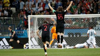 [FOTOS] Hinchas chilenos gozaron con la derrota de Argentina ante Croacia
