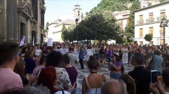 [VIDEO] Protestas por libertad a La Manada en España