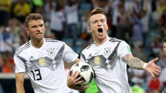 [VIDEO] El gol con el que Marco Reus puso la igualdad para Alemania ante Suecia
