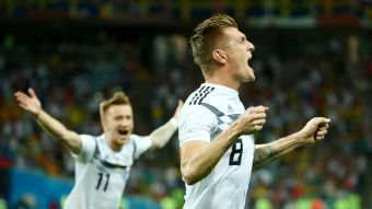 [VIDEO] El golazo de Toni Kroos que le da vida a Alemania en el Mundial de Rusia 2018
