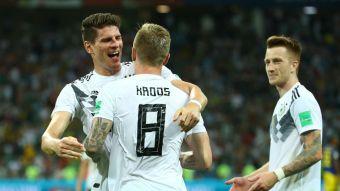 [VIDEO] Revive el agónico triunfo de Alemania sobre Suecia en Rusia 2018.