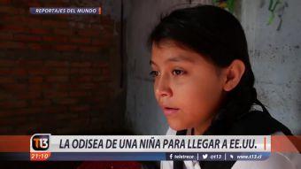 [VIDEO] La odisea de una niña para llegar a Estados Unidos