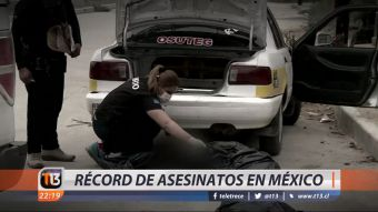 [VIDEO] Récord de asesinatos en México