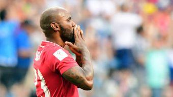 [FOTOS] El éxtasis de Panamá tras anotar su histórico primer gol en un Mundial
