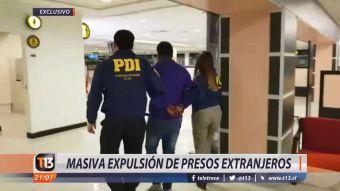 [VIDEO] Masiva expulsión de presos extranjeros