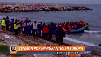 [VIDEO] Tensión por inmigrantes en Europa