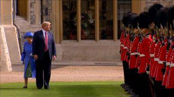 [VIDEO] El incómodo viaje de Trump a Inglaterra