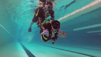 [VIDEO] #LaBuenaNoticia: Sumergi2, el buceo que sana