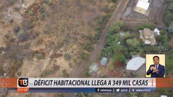 [VIDEO] Déficit habitacional llega a 349 mil casas