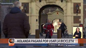 [VIDEO] Holanda pagará por usar la bicicleta