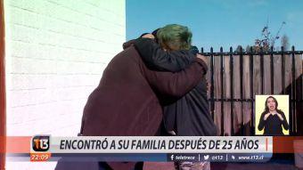 [VIDEO] Encontró su familia después de 25 años