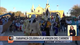 [VIDEO] Tarapacá celebra a la Virgen del Carmen