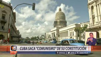 [VIDEO] Cuba saca comunismo de su constitución