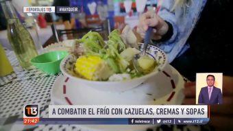 [VIDEO] #HayQueIrAComerConGana: A combatir el frío con cazuelas, cremas y sopas