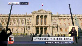[VIDEO] Reportajes T13: Acoso sexual en el poder judicial