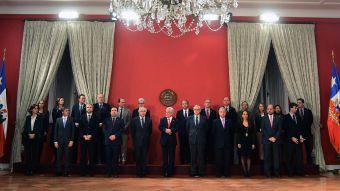 ¿Cómo quedó el gabinete del Presidente Piñera?