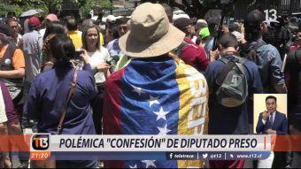 [VIDEO] Polémica confesión de diputado preso