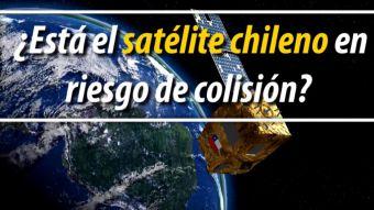 El trabajo de la FACh para evitar que el satélite chileno choque en el espacio