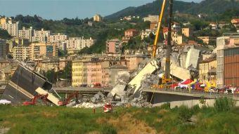 [VIDEO] T13 en Italia: Así es la zona cero de la tragedia del Puente Morandi