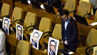 [VIDEO] 11 de septiembre: Cámara realiza homenaje a Salvador Allende con pocos diputados en sala