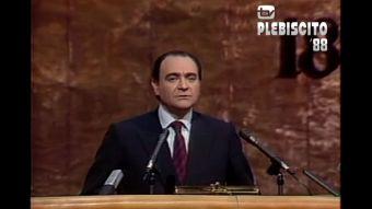 [VIDEO] Plebiscito 88: Alberto Cardemil entrega segundo cómputo del proceso