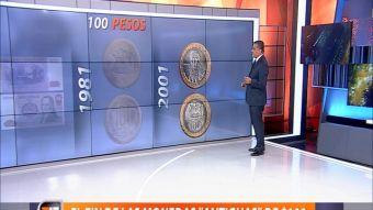 [VIDEO] Ramón Ulloa explica cómo será el fin de las monedas antiguas de 100 pesos