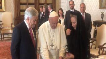 [VIDEO] Papa aborda crisis de Iglesia con Sebastián Piñera