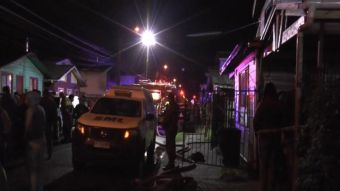 [VIDEO] Incendio deja tres niños fallecidos