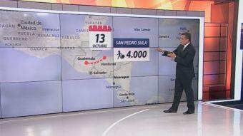 [VIDEO] Ramón Ulloa explica el trayecto de migrantes hondureños hacia EE.UU