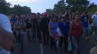 [VIDEO] Siete mil hondureños cruzaron a México