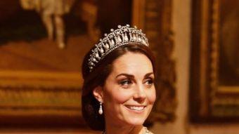 c3a81fa16 Kate Middleton sorprende usando tiara favorita de la princesa Diana