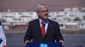 [VIDEO] La accidentada gira del Presidente Piñera al norte