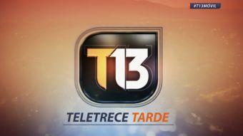 Revisa la edición de T13 Tarde de este 24 de marzo