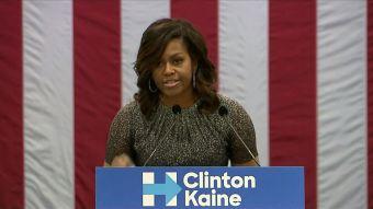 [VIDEO] La pelea entre Michelle Obama y Trump