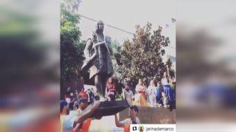 [VIDEO] ¿Por qué sacaron estatua de Cristóbal Colón en Los Ángeles?